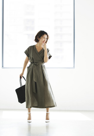 NAOKO OKUSA×1er Arrondissement / DAY&NIGHT DRESS