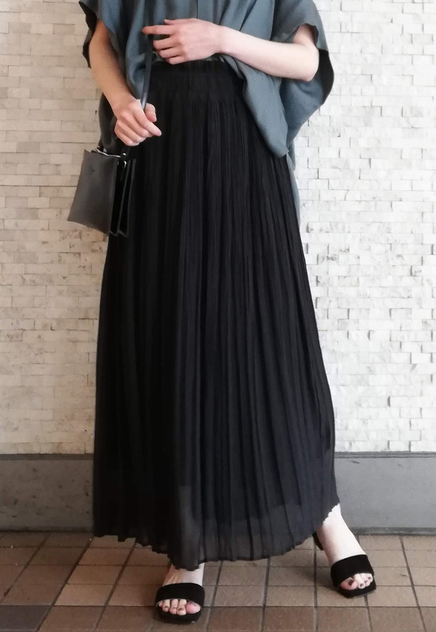 NAOKO OKUSA×1er Arrondissement / LADY LIKE SKIRT 詳細画像 Black 1