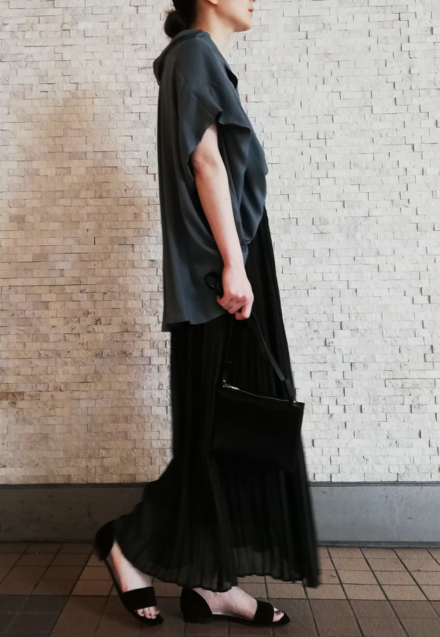 NAOKO OKUSA×1er Arrondissement / LADY LIKE SKIRT 詳細画像 Black 2