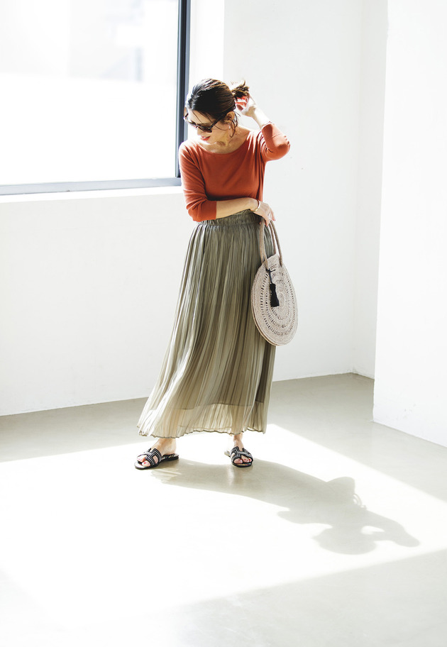 NAOKO OKUSA×1er Arrondissement / LADY LIKE SKIRT 詳細画像 Khaki 1