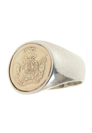 <SYMPATHY OF SOUL (シンパシー オブ ソウル)>Mini Classic Coin Ring